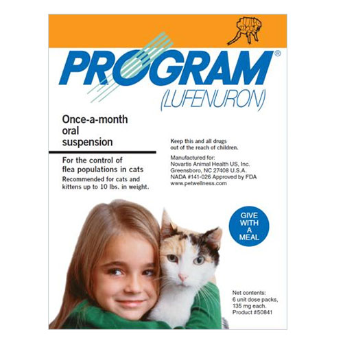 Program Oral Suspension for Cats for Cats