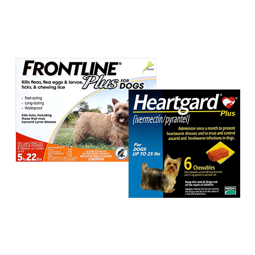 Frontline Plus + Heartgard Plus
