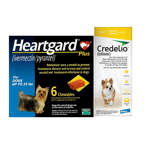Heartgard Plus + Credelio