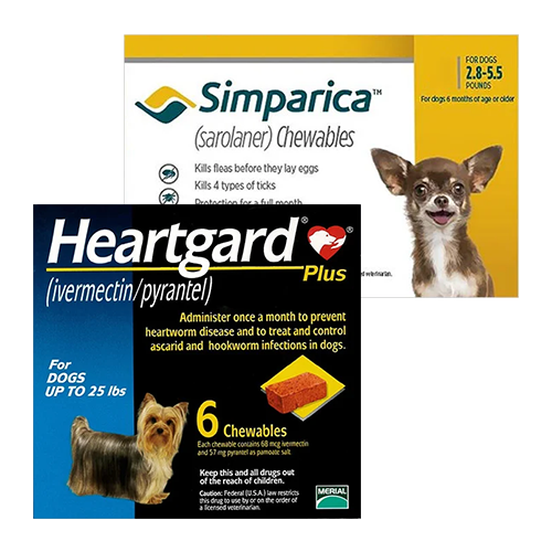 Heartgard Plus + Simparica