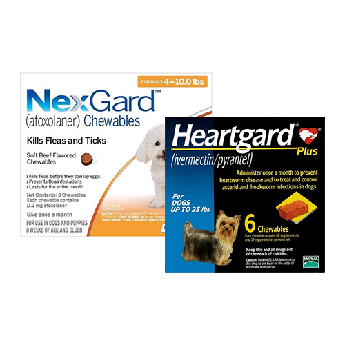 Nexgard + Heartgard Plus