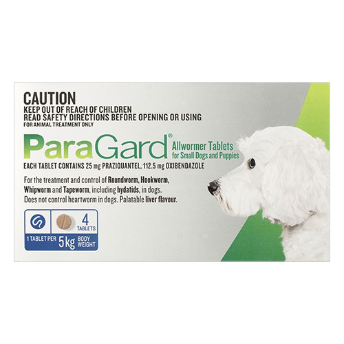 Paragard Allwormer for Dogs