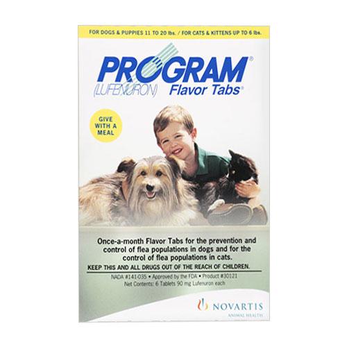 Program Flavor Tablets